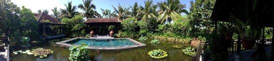 Villa Hoa Su Frangipani: piscina y jardines