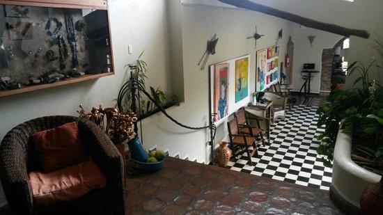 Posada Casa Sol: Areas comunes