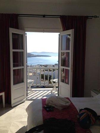 Hermes Mykonos Hotel : the windo view