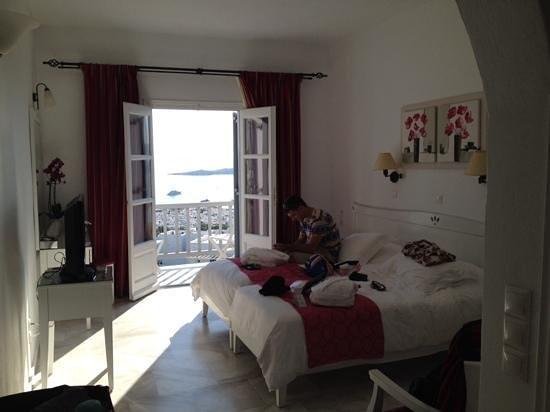 Hermes Mykonos Hotel : our room 501
