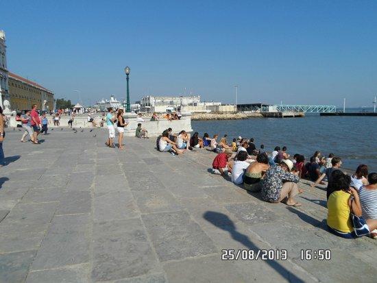Praça do Comércio (Terreiro do Paço) : Prça do Commercio