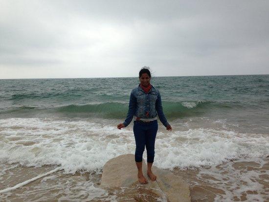 Hotel Prestige Odalys Erromardie: la plage