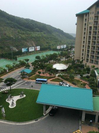 Konjiam Resort: W棟からの景色