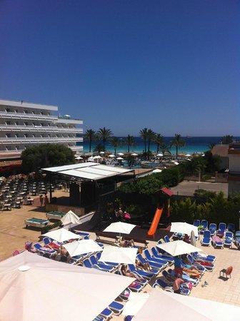 Hotel Condesa de la Bahía: View from room 230