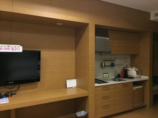 Konjiam Resort: 調理設備付き