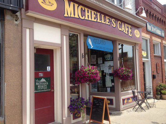Michelle's Cafe : Entrance