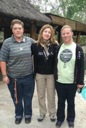 Shalati Adventure Lodge: The shalati lodge staff