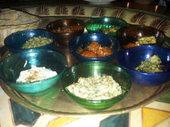 Sofra Restaurant & Cafe : Mezze sections