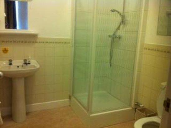 Station Hotel: Room 222 shower room