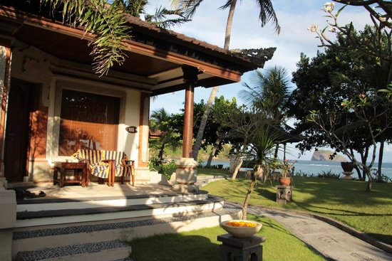 Puri Bagus Candidasa : Sea-view-bungalow