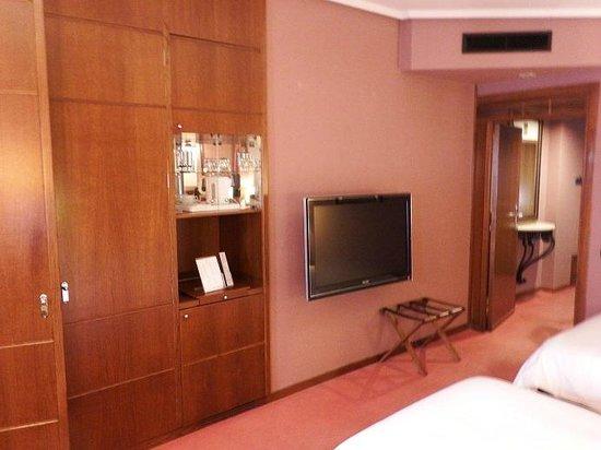 Palafox Hotel: stanza