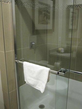 Stonecroft Inn: Room walk in shower