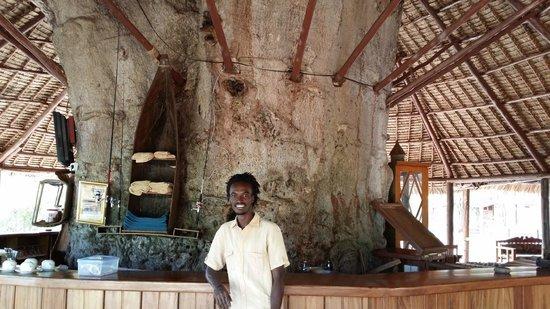 Selous Mbuyu Safari Camp: Big Bar
