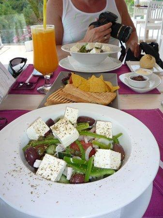 Proteas Blu Resort: Deilig lunch!