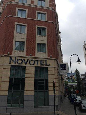Novotel Brussels City Centre: Exterior