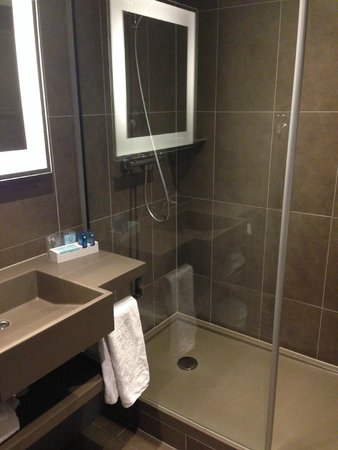 Novotel Brussels Centre: Nice bathroom