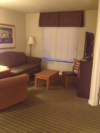 HYATT house Boston/Burlington: living room