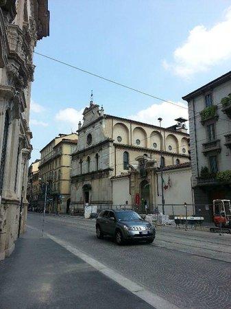 Chiesa di San Maurizio al Monastero Maggiore : Church of San Maurizio from the outside.
