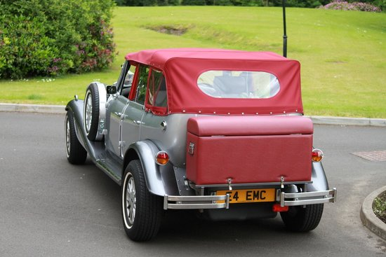 Carnbooth House Hotel: Wedding car