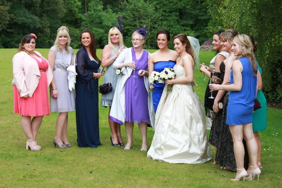 Carnbooth House Hotel: Wedding party