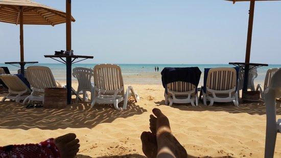 Stella Di Mare Sea Club Hotel, Ain Sukhna : Beach