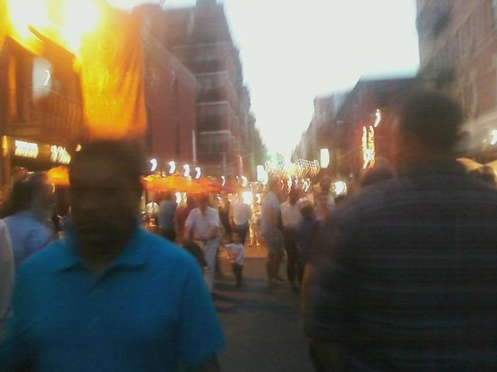A Saturday Evening in Little Italy
