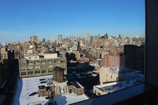 Trump SoHo New York: Bedroom Views: Manhattan