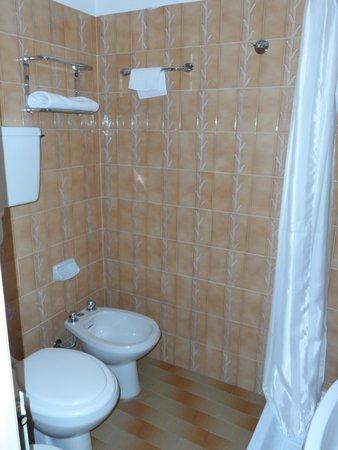 Hotel Lyskamm: Bagno