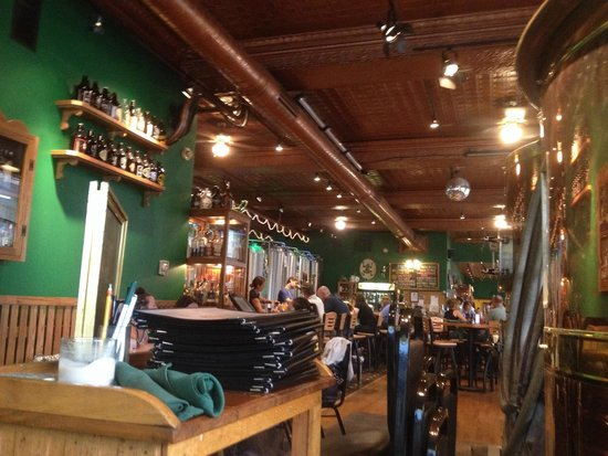 Bullfrog Brewery: Inside the Bull Frog