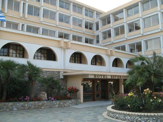 Hotel Esperides: entrance