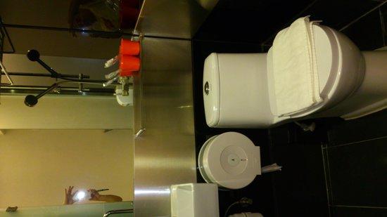 Homy Inn: トイレとシャワーは一緒です