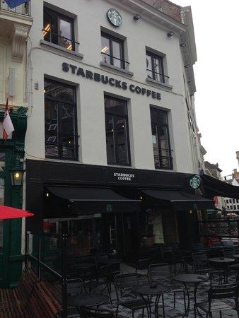 Photo of Coffee Shop Starbucks at Groenplaats 13, Antwerp 2000, Belgium
