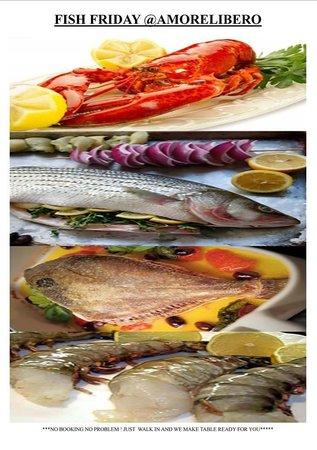 Amore Libero: FRESH FISH STRAIGHT FROM FRESH WATER***