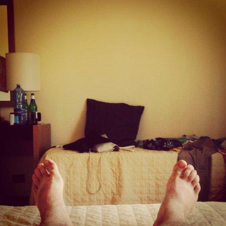Cerri Hotel: room 107.