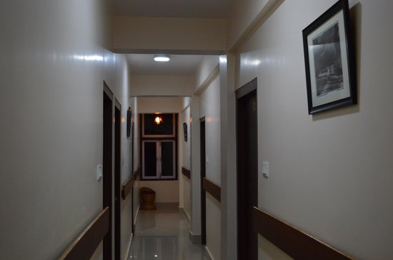 The Pinewood Hotel: corridor