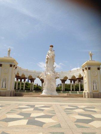 Plaza del Rosario de Nuestra Senora de Chiquinquira : Virgen
