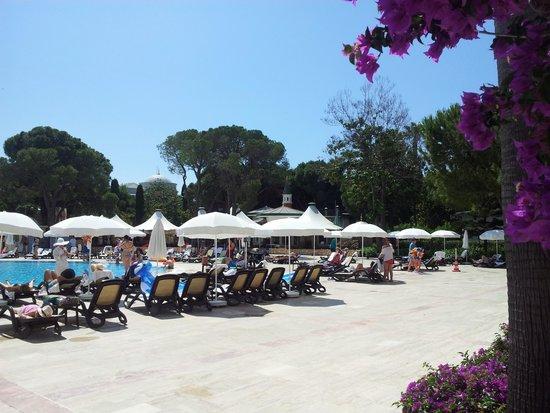 WOW Topkapi Palace: Unser Pool direckt von unserem Zimmer aus zu erreichen