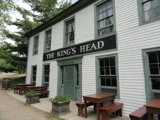 Kings Landing Historical Settlement: Operating restaurant on property