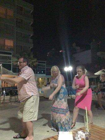 Flamingo Hotel : Turkish night