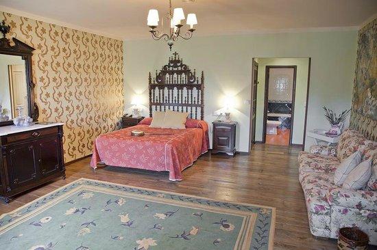 Pazo La Buzaca: Habitación Suite
