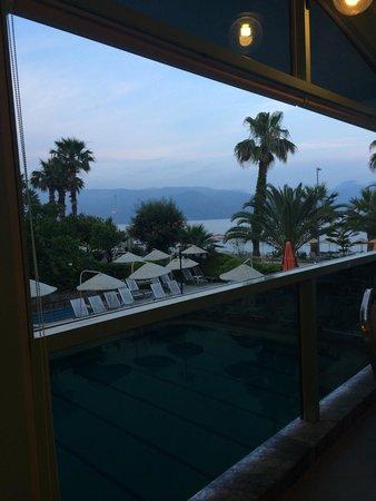 Flamingo Hotel : View at breakfast