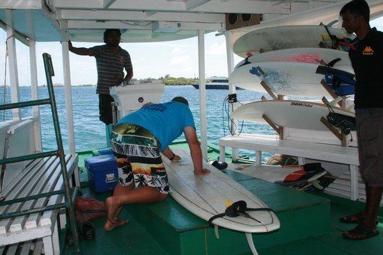 Just Surf Villa & Lodge Maldives: tony