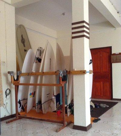 Just Surf Villa & Lodge Maldives: foyer