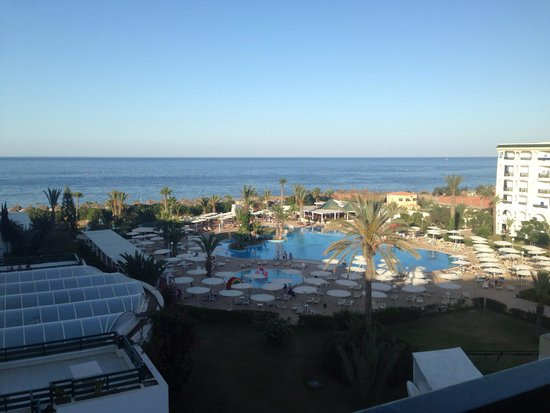 El Mouradi Palm Marina: View from our balcony