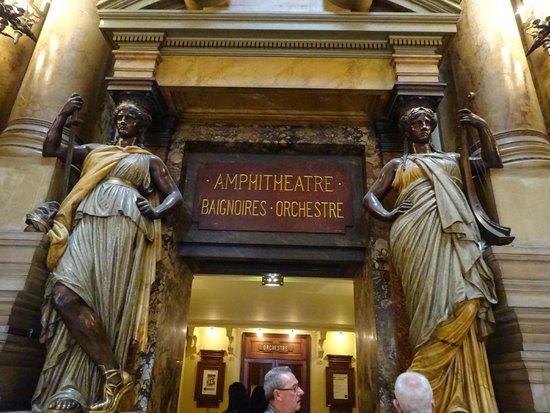 Opéra Garnier : ガルニエ内部見学