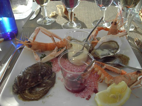 Nausicaa : Local No 3 Oysters & Langoustines