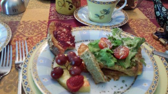 Au Jardin d'Ozanne: amazing breakfast