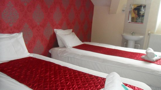 Mitre Hotel: Bardzo wygodne lozka