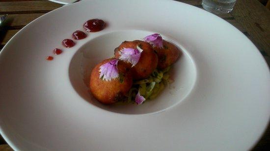 Restaurante Los Roques: Tod Mun Pla