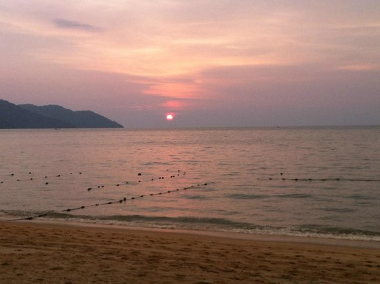 Bayview Beach Resort : Batu Ferringhi beach next to the Bayview